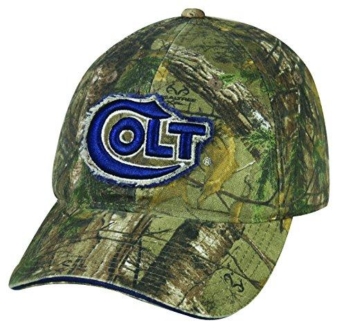 Colt Adjustable Closure Colt Camo Cap, Realtree Xtra (Colt 45 Hat)