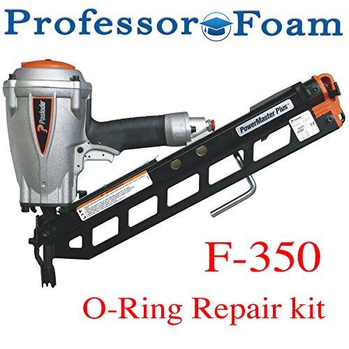 Paslode Framing Nailer O ring Rebuild Kit F350s - Complete O Ring kit - from Professor (Nailer O-ring Kit)