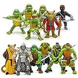 6pcs/lot Teenage Mutant Ninja Turtles TMNT Mini Figures Action Figures Toy (2)