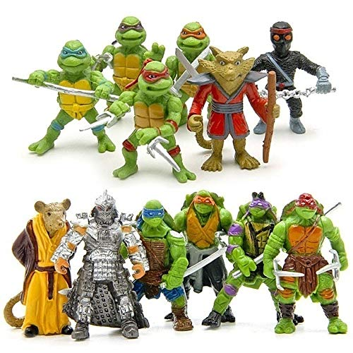 6pcs/lot Teenage Mutant Ninja Turtles TMNT Mini Figures Action Figures Toy (2)