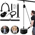 LAT-Cable-Pulley-System-fai-da-te-Pulley-Cable-Machine-Attachment-System-Fitness-Pulley-Cable-System-Attrezzatura-da-palestra-domestica-per-tricipiti-pulldown-bicipiti-curl-schiena-avambraccio