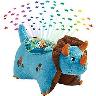 Pillow Pets Sleeptime Lites Blue Dinosaur Stuffed Animal Plush Night Light