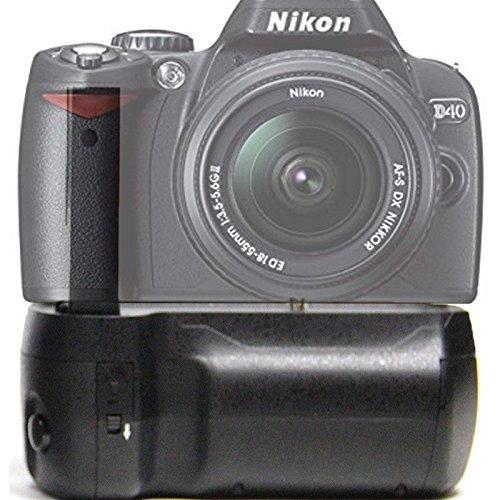 MaximalPower - PREMIUM agarre Vertical de batería para Nikon D40 ...