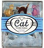 Fox Run 5-Piece Cat Cookie Cutter Set