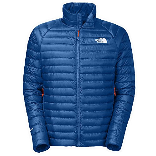 The North Face Quince Jacket Mens Monster Blue M (Mountain Face North Light Jacket)