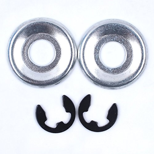 Haishine 2Set Clutch Washer and Clip fit Stihl MS170 MS180 MS210 MS230 MS240 MS250 MS260 MS360 ()