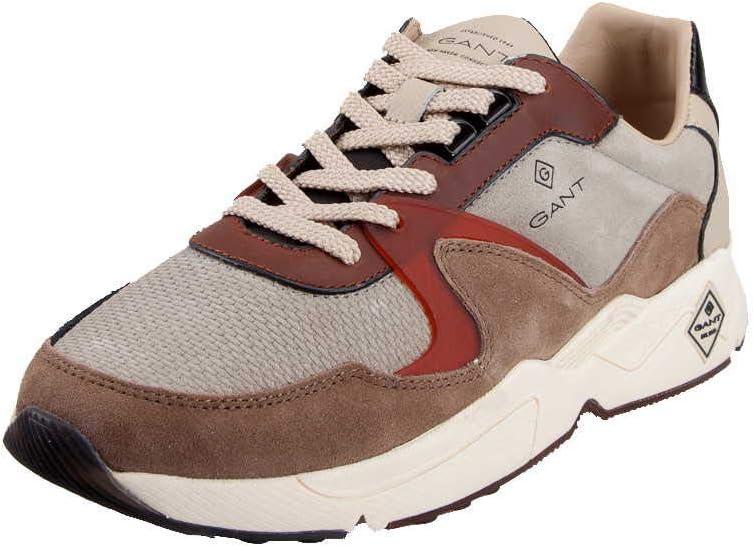 GANT Portland Sneakers voor heren meerkleurig Gray Mud Brown G886