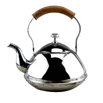 0Miaxudh - Tetera de acero inoxidable para cocina de hotel ...