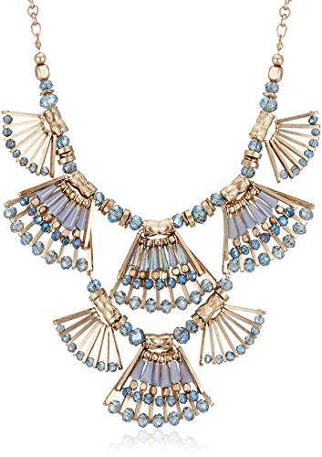 Accessorize Choker Necklace for Women (Blue/Gold) (MN-18255740001) @ 3145