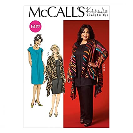 Mccalls Ladies Plus Size Easy Sewing Pattern 7029 Casual Wardrobe