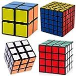 Black Cube Puzzle Bundle Pack,2x2x2,3...