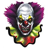 """Amscan Creepy Carnival Halloween Trick or Treat Party Cutout Decoration, 15"""", Multicolor"""