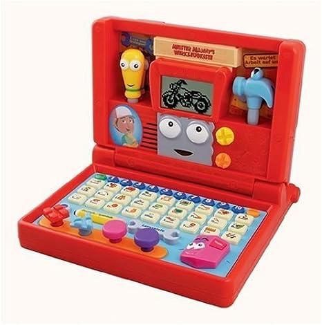 VTech 80-104204 Handy Manny - Ordenador portátil educativo para niños [importado de Alemania