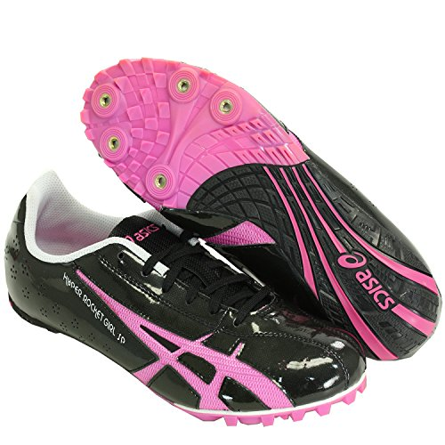 Scarpe Da Donna Iper Rocket Sp3 Track & Field Spike Shoes Nero Rosa 7.5