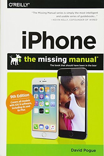 iPhone: The Missing Manual (Best Application For Iphone 4)