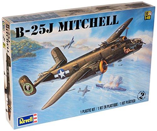 Revell 1:48 B25J Mitchell (Plastic 25 Scale Model)