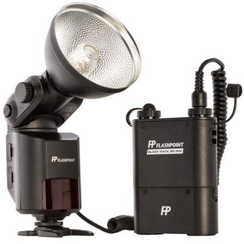 Flashpoint SL-360K1 StreakLight 360 Watt-Seconds Flash with Blast Power Pack (Black) ()
