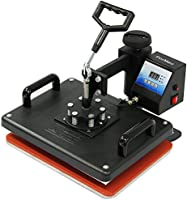 PixMax - Prensas Térmicas 5en1 para Camisetas, Tazas, Gorras y Platos, Plotter de Corte de Vinilo & Impresora