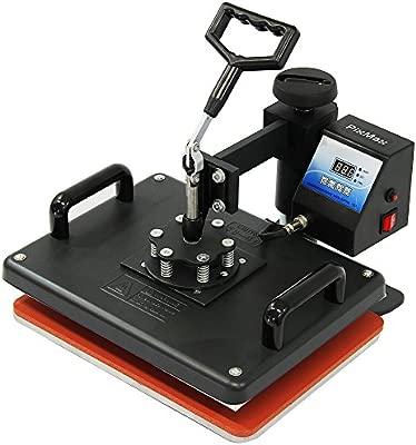 PixMax - Plotter de Corte de Vinilo, Impresora y Prensas Térmicas para Camisetas, Tazas, Gorras y Platos
