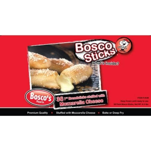 Boscos Pizza Cheese Filled Breadstick -- 144 per case. by Boscos Pizza