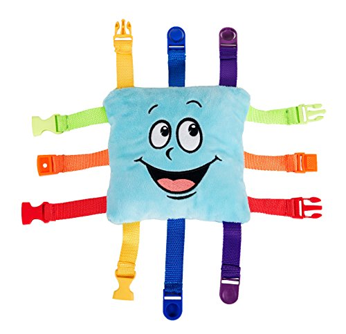 Bella Square Pillow - Buckle Toy - Bubbles Square