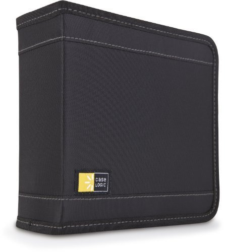 Case Logic CDW-32 32 Capacity Classic CD Wallet (Black) Size: 32 Portable Consumer Electronics Home Gadget by N MARKET