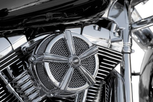 2006 Harley Davidson FLHR Road King Hi-Five Mach 2 Air Cleaner - Chrome, Manufacturer: Kuryakyn, HI FIVE MACH 2 AIR ()