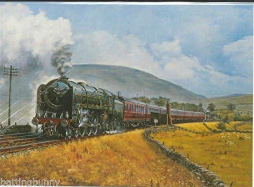 Locomotora de Vapor Alfred The Great Escalada Shap Cumbria en ...