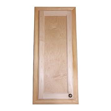 Wandplank 30 Diep.Wood Cabinets Direct 30 Electra Recessed Solid Wood Medicine