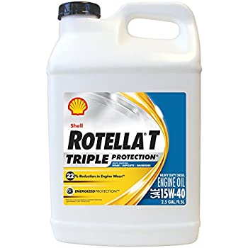 Shell rotella 550019919 t triple protection for Shell synthetic blend motor oil