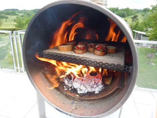Pizzaofen fur garten for Outdoorkuche mit grill
