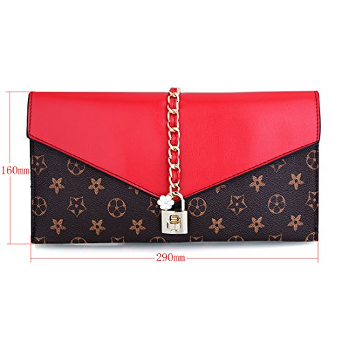 bag femme UNYU evening Sacs Red main à 8r8q5wX