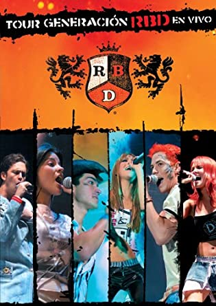 Amazon com: Tour Generacion En Vivo: Rbd: Movies & TV