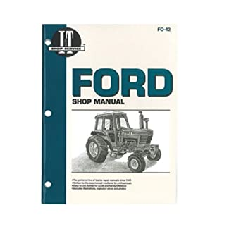 amazon com: itfo42 new ford tractor shop manual 5000 5600 5610 6600 6610  6700 6710 7000 ++: industrial & scientific