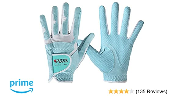Amazon.com   PGM Women s Golf Glove One Pair (4 Color Options ... 20cfdb6620