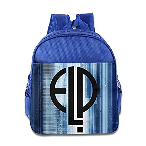 Logo Emerson Lake And Palmer Kids School RoyalBlue Backpack Bag (Sony Emerson)