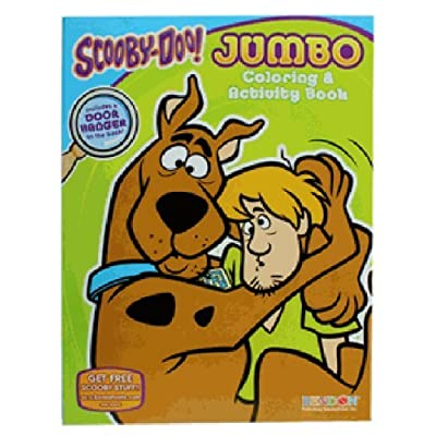 Scooby and Shaggy Coloring Book - Kids Activity Book: Office Products