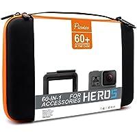 Pieviev Accessories Case Kit for Gopro HERO5 Black (60+ Items,Included HERO5 Black Frame)