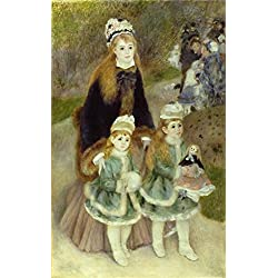 The Perfect Effect Canvas Of Oil Painting 'Pierre Auguste Renoir,Les Parapluies,1880' ,size: 20x32 Inch / 51x81 Cm ,this High Quality Art Decorative Prints On Canvas Is Fit For Foyer Decoration And Home Artwork And Gifts