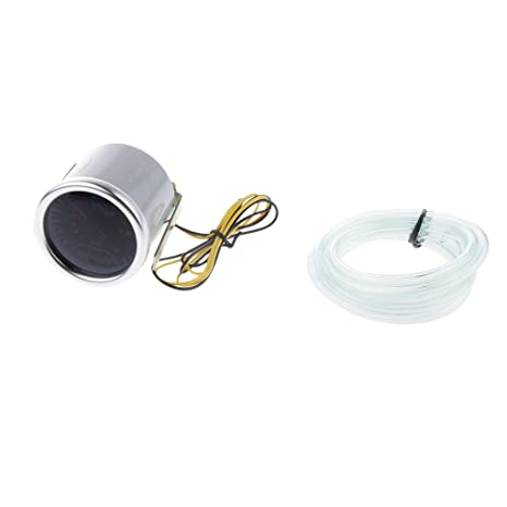 "Jili Online 2"" 52mm Car Motor Universal Bar Turbo Boost Gauge Meter Smoke Tint Lens"