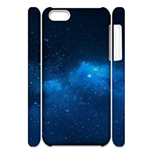 LINMM58281iphone 5/5s Case 3D, Blue Starry Night Sky Case for iphone 5/5s white lmiphone 5/5s17140LINMM582811