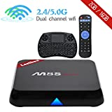 Leelbox M8S max Android TV Box Android 6.0 /BT 4.0/ 2GB RAM+16GB ROM/ s905X / Dual-band WIFI 2.4GHz+5.0GHz/100M LAN