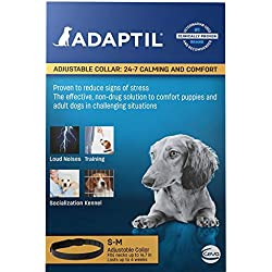 Adaptil DAP (Dog Appeasing Phermone) for Stressful Small/Medium Dogs - Calming