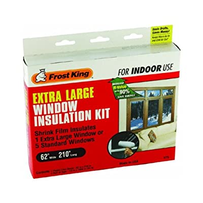 Frost King Shrink Film Window Kit For Extra Large Window