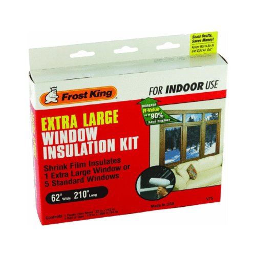 Frost King Shrink Film Window Kit For Extra Large Window (Frost King Window Kit compare prices)