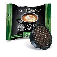 Caffè Borbone Capsule Don Carlo Miscela Dek - Confezione da 100 Capsule - Compatibili Lavazza A Modo Mio