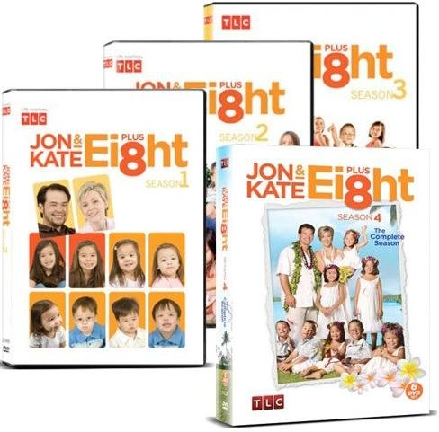 Jon & Kate Plus Ei8ht: Seasons 1-4 Collection (17 Kids And Counting 2 Dvd Set)