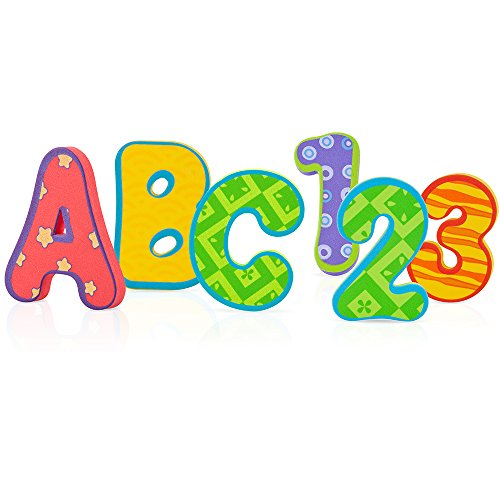 Nuby 36 Piece Bath Tub Alphabet -