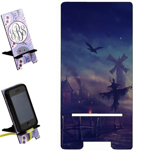 Halloween Pumpkin creepy scary Smartphone image STAND / Holder for cell phones Great Gift Idea