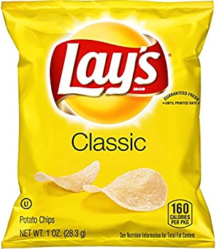 40-Pack Lay's Classic Potato Chips, 1 Ounce